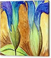 Blue Gentian Canvas Print