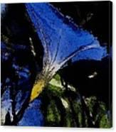 Blue Glory Canvas Print