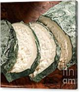 Blue Goat Cheese Canvas Print