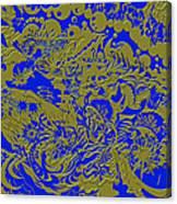 Blue Gold 40 Canvas Print