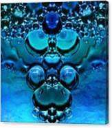 Blue Green Aura Canvas Print