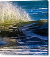 Blue Green Get Away Canvas Print