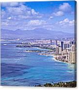 Blue Hawaii Canvas Print