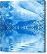 Blue Healing Canvas Print