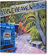 Blue Heaven New View Canvas Print