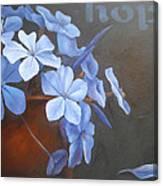 Blue Hope Canvas Print
