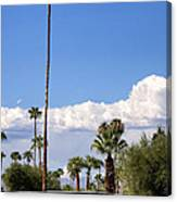 Blue Horizon Palm Springs Canvas Print