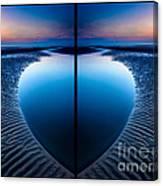 Blue Hour Diptych Canvas Print