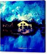 Blue House  Canvas Print