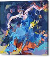 Blue Hurricane Canvas Print