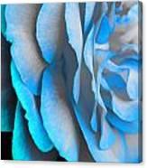 Blue Impatience Canvas Print