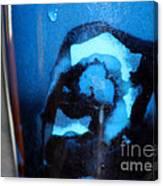 Blue Instant Canvas Print