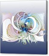 Blue Is The Colour Of My Love II Canvas Print