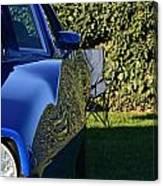 Blue Javelin Fender Canvas Print