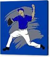 Blue Jays Shadow Player3 Canvas Print