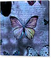 Blue Jean Baby Canvas Print