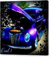 Blue Jewel Art Canvas Print