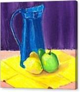 Blue Jug Canvas Print