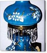 Blue Lamp Canvas Print
