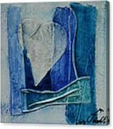 Blue Love 11 Canvas Print