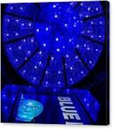 Blue Man Group Chandelier Canvas Print
