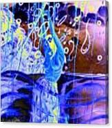 Blue Maqical Sensualism Canvas Print