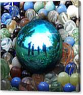 Magic Blue Marble Canvas Print