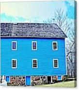Blue Mill Historic Walnford Mill  Canvas Print