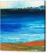 Blue Mist Over Nantucket Island Canvas Print