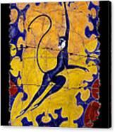 Blue Monkey No. 13 Canvas Print