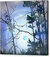 Blue Moonlight Canvas Print