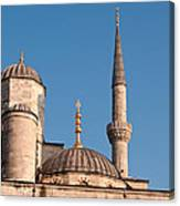 Blue Mosque 02 Canvas Print