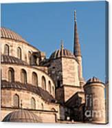 Blue Mosque Domes 08 Canvas Print