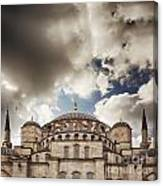Blue Mosque Istanbul Canvas Print