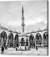 Blue Mosque Minaret Canvas Print