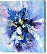 Blue Mystery Canvas Print