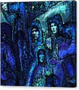 Blue O'clock Cloisters Canvas Print
