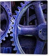 Blue Power Canvas Print