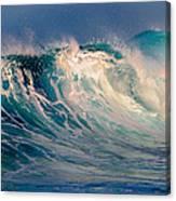 Blue Power. Indian Ocean Canvas Print