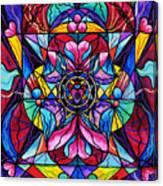 Blue Ray Healing Canvas Print