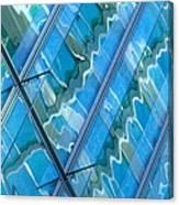 Blue Reflection 3 Canvas Print