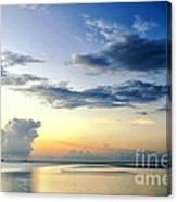 Blue Relax Canvas Print