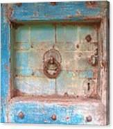 Blue Relic Canvas Print
