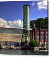 Blue Ridge Dam Canvas Print