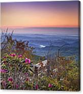 Blue Ridge Dawn Canvas Print