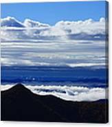 Blue Ridge Fog-north Carolina Canvas Print