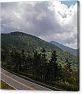 Blue Ridge Mountains And Blue Ridge Parkway Canvas Print
