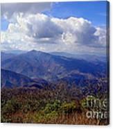 Blue Ridge Parkway I Canvas Print