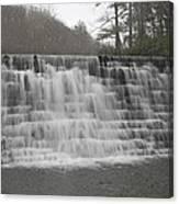 Blue Ridge Parkway Meandering Waters  Canvas Print