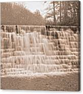 Blue Ridge Parkway Rainy Day Canvas Print